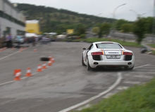 R8 show royalty free stock images