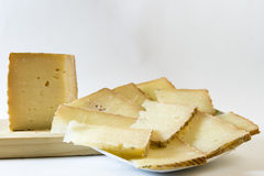 Ração do queijo Imagens de Stock