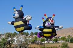 Raça 2010 do balão de ar quente de Reno Fotografia de Stock Royalty Free