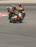 raça 250cc em GP Sepang da motocicleta de 2008 Malaysian Imagem de Stock