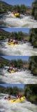 Raça da água de Whte Fotografia de Stock Royalty Free