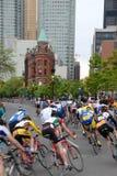 Raça da bicicleta do critério de Toronto Fotos de Stock
