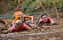 Raça da corrida da lama Imagem de Stock Royalty Free