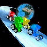 Raça da economia mundial Fotos de Stock Royalty Free