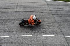Raça da motocicleta Imagem de Stock Royalty Free