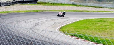 Raça da motocicleta Imagens de Stock Royalty Free
