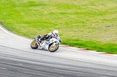 Raça da motocicleta Fotografia de Stock