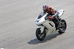 Raça da motocicleta fotos de stock