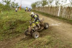 Raça da motocicleta de Baja Pedernales foto de stock royalty free