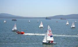 Raça da navigação da baía de Burgas Fotografia de Stock