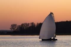 Raça de barco Fotos de Stock Royalty Free