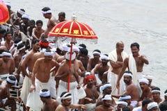 Raça de barco de Aranmula Fotografia de Stock