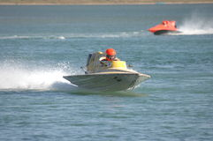 Raça de barco nacional do campeonato Fotografia de Stock