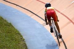 Raça de bicicleta Fotos de Stock Royalty Free