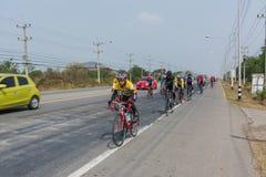 Raça de bicicleta Fotografia de Stock