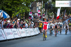 Raça de ciclismo grande de Gastown Prix 2013 Imagem de Stock