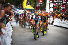 Raça de ciclismo grande de Gastown Prix 2013 Fotografia de Stock