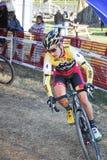 Raça de Cyclocross Foto de Stock