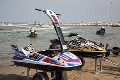 Raça de Jet Ski Imagem de Stock
