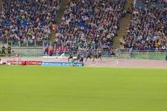 raça de 100m Imagem de Stock