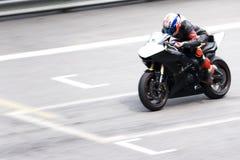 Raça de Superbike fotos de stock