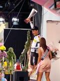 Raça do último do d'Italia do Giro, Marco Pinotti Foto de Stock