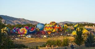 Raça do balão Imagens de Stock Royalty Free