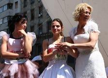 Raça do casamento Imagem de Stock Royalty Free