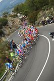 Raça do ciclo de Milão-Sanremo Imagem de Stock