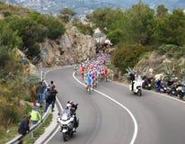 Raça do ciclo de Milão-Sanremo Fotos de Stock