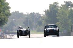 Raça do clássico de Le Mans Fotografia de Stock Royalty Free