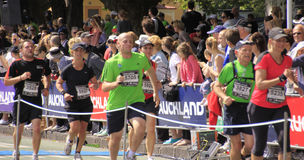 Raça do funcionamento da maratona Imagens de Stock Royalty Free