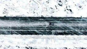 Raça do inverno de Baikal video estoque