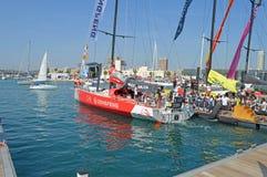 Raça 2014 - 2015 do oceano de Volvo da equipe da raça de Dongfeng Fotos de Stock