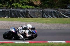 Raça 004 do Superbike Fotos de Stock Royalty Free