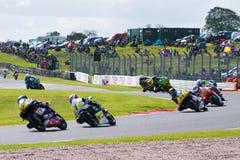 Raça 013 do Superbike Fotografia de Stock