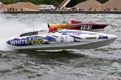 Raça do waterski F1 Foto de Stock Royalty Free
