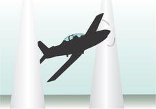 Raça dos aviões Fotografia de Stock Royalty Free