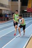 Raça interna da tentativa do registro do atletismo da federação atlética turca Foto de Stock
