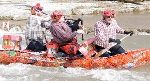 Raça louca do rio do ofício, esperança portuária, março 31/2012 Imagem de Stock Royalty Free