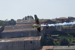 Raça Porto do ar de Red Bull Foto de Stock Royalty Free