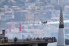 Raça Porto 2017 do ar de Red Bull Imagens de Stock Royalty Free