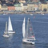 Raça a pouca distância do mar 2015 de Ã… F Fotografia de Stock Royalty Free