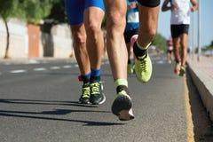 Raça running da maratona Imagem de Stock