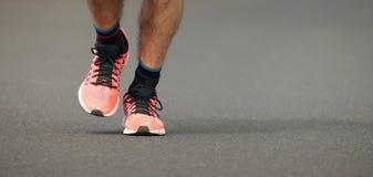 Raça running da maratona Fotografia de Stock Royalty Free