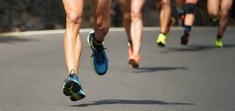 Raça running da maratona Fotos de Stock