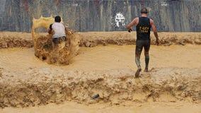 Raça running do obstáculo espartano Imagem de Stock