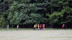 Raça running do obstáculo espartano Imagem de Stock Royalty Free