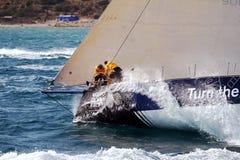 Raça Team Clean Seas do oceano de Volvo Foto de Stock
