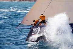 Raça Team Clean Seas do oceano de Volvo Imagens de Stock